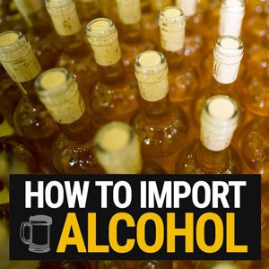 How to import alcohol