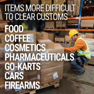 how to clear customs