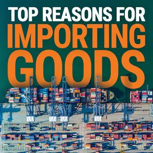 Top reasons for importing goods