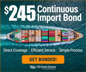 Continuous Import Bond