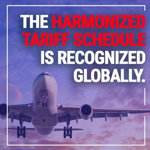 Harmonized tariff schedule is recognized globally