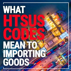 What HTSUS codes mean to importing goods