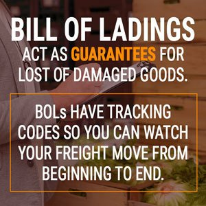 Bill of Ladings act as a guarantee for damaged goods