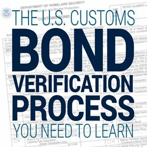 Customs Bond Verification Process