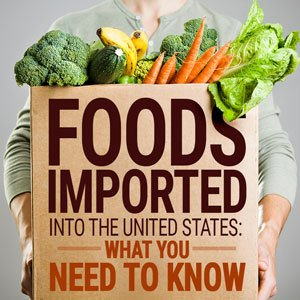Importing food into the US