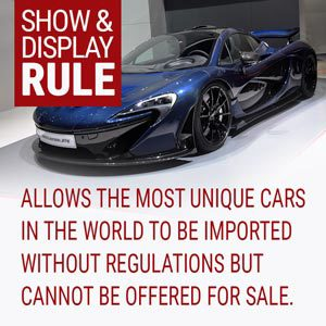 Take Advantage of the Show and Display Rule