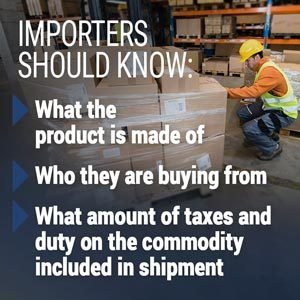what importers need to know