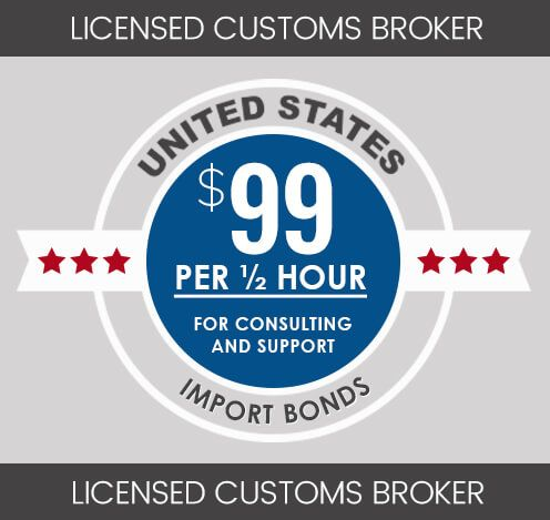 ½ Hour Customs Broker Consultation Session