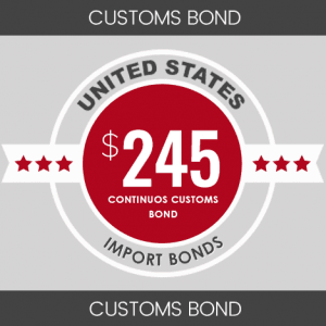Continuous Customs Bond Product