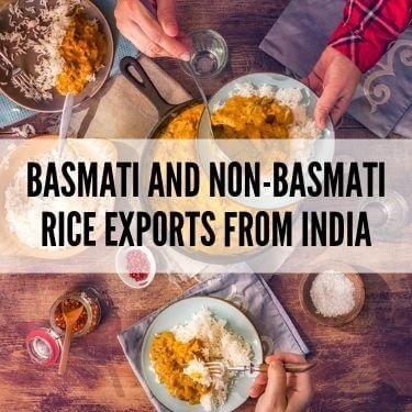 Basmati and Non Basmati Rice Exports from India