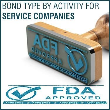 Bond Type by Activity for Service Companies