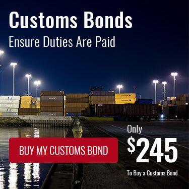 Customs Bonds Ensure Duties Are Paid