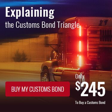 Explaining the Customs Bond Triangle