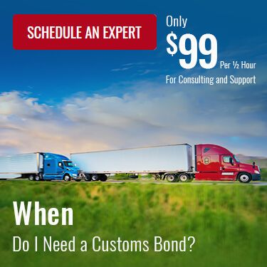 When Do I Need a Customs Bond