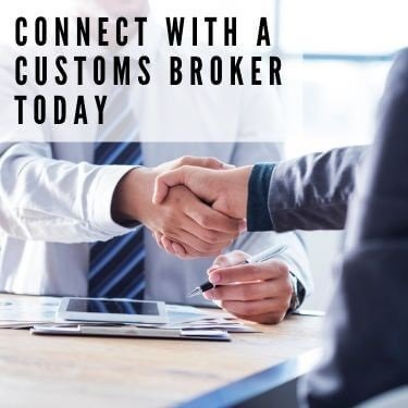 connect with a customs broker today