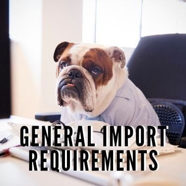 general import requirements