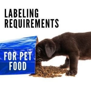 labeling requirements for pet food