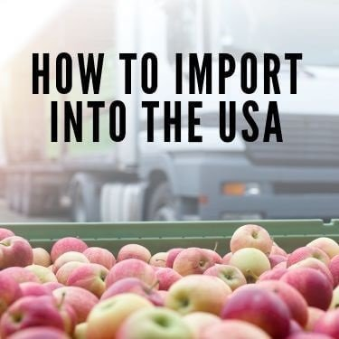 how to import into the usa