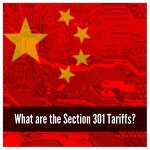 What are the Section 301 tariffs
