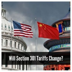 Will Section 301 Tariffs Change