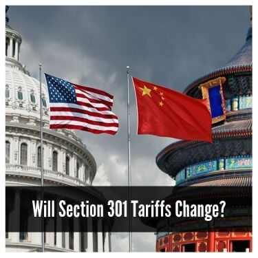 Will Section 301 Tariffs Change