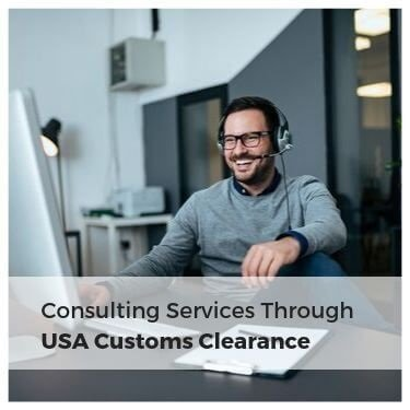 consulting services through USA Customs Clearance