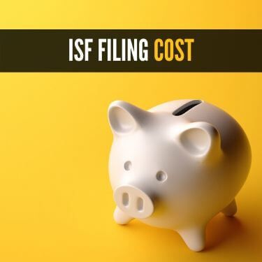 ISF Filing Cost
