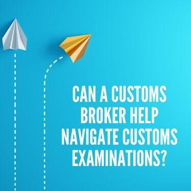 Can a Customs Broker Help Navigate Customs Examinations