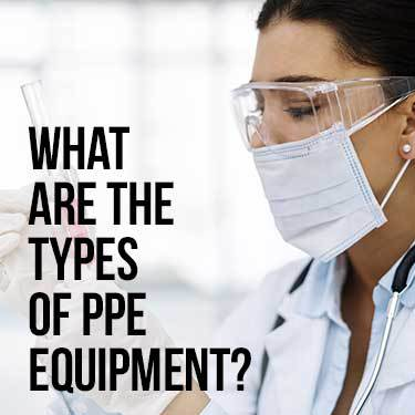 what are the types of ppe equipment
