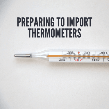 Preparing to Import Thermometers
