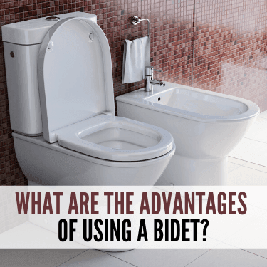 What are the advantages of using a bidet