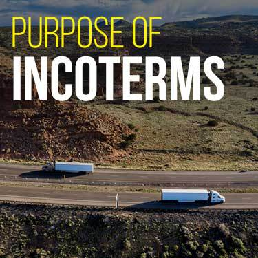 Purpose of Incoterms