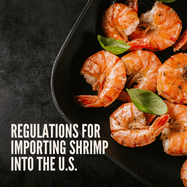 Regulations for Importing Shrimp into the U.S.