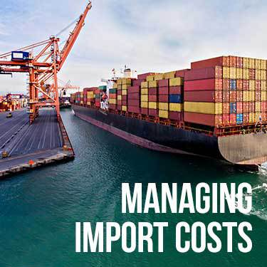 Managing Import Costs