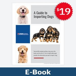 Comprehensive Guide to Importing Dogs eBook Product Image
