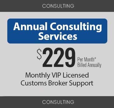 annual consulting services