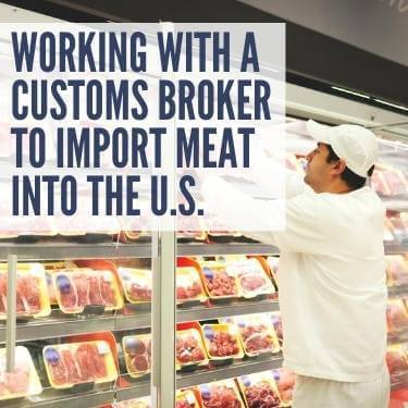 Working With a Customs Broker to Import Meat Into the U.S.