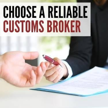 Choose a Reliable Customs Broker