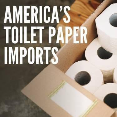 America's Toilet Paper Imports