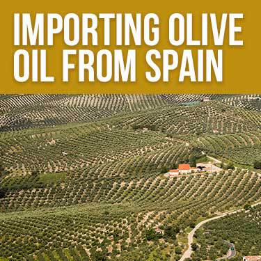 Importing Olive Oil From Spain