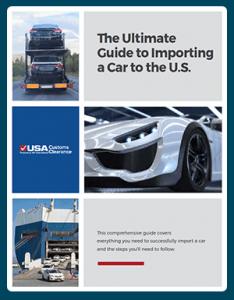 importing a car e-book
